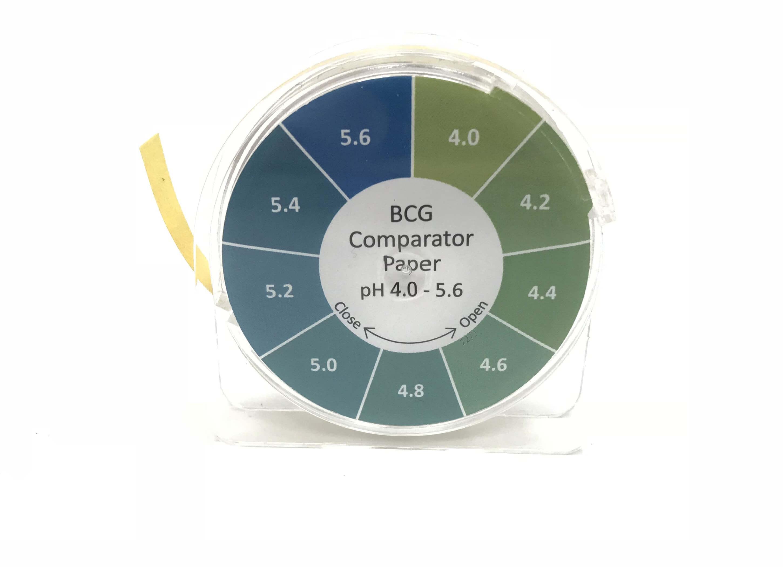 BCG Comparator Paper pH 4.0 - 5.6