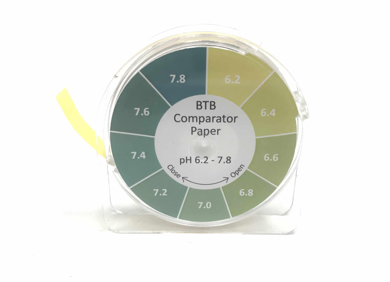 BTB Comparator Paper pH 6.2 - 7.8