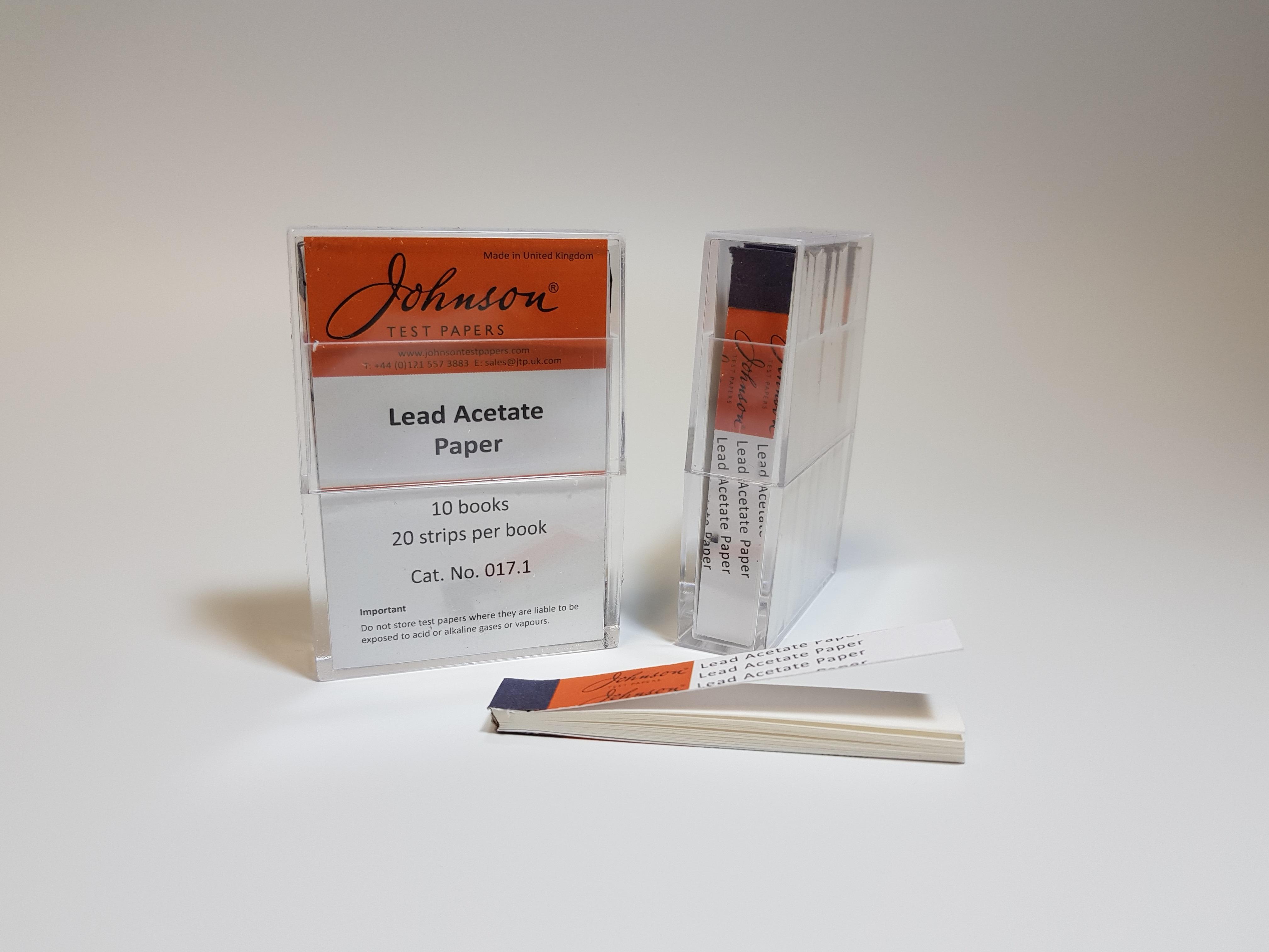 Lead Acetate Paper